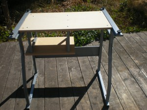 Build your own treadmill desk or workstation directions