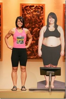 Ali Vincent- First female to win biggest loser! 112 pounds gone