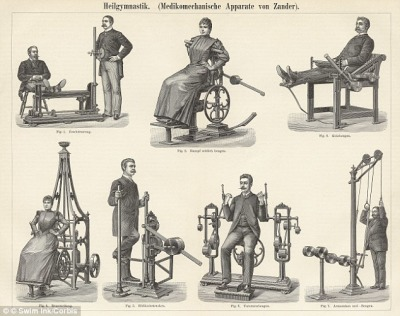 1800's exercise machines
